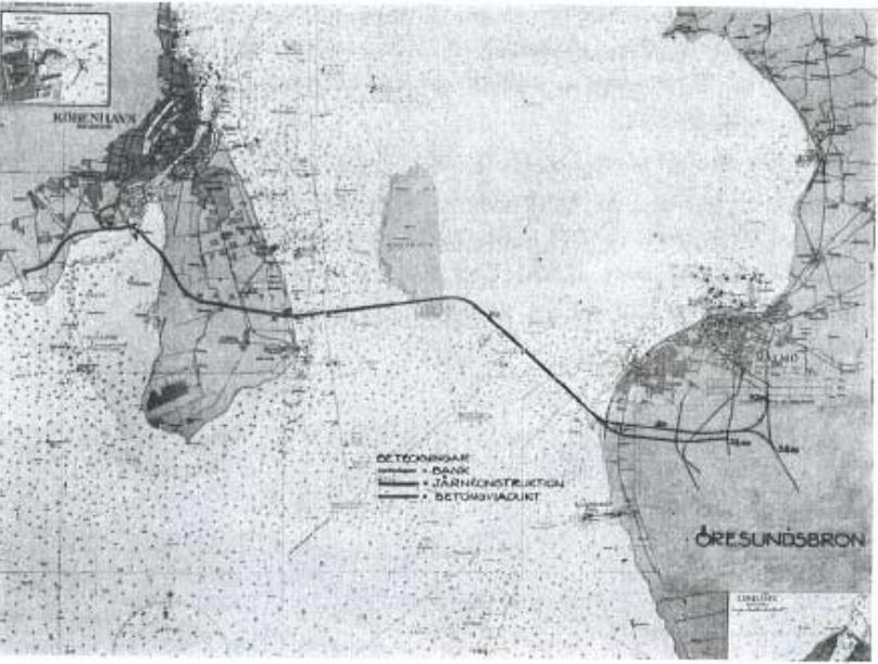 Planer om en bro till Danmark