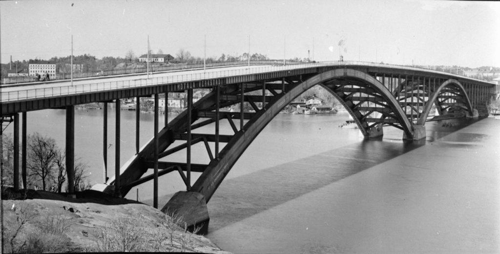 Liljeholmsbron och Västerbron