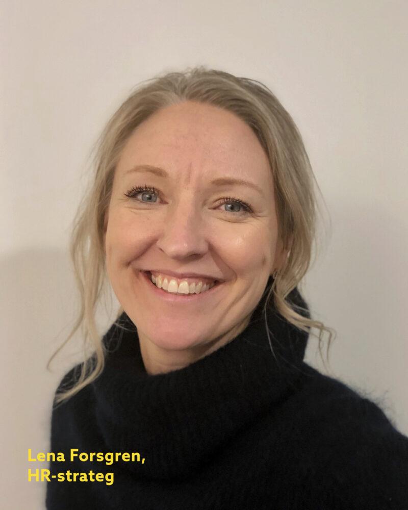 Lena Forsgren ny HR-strateg