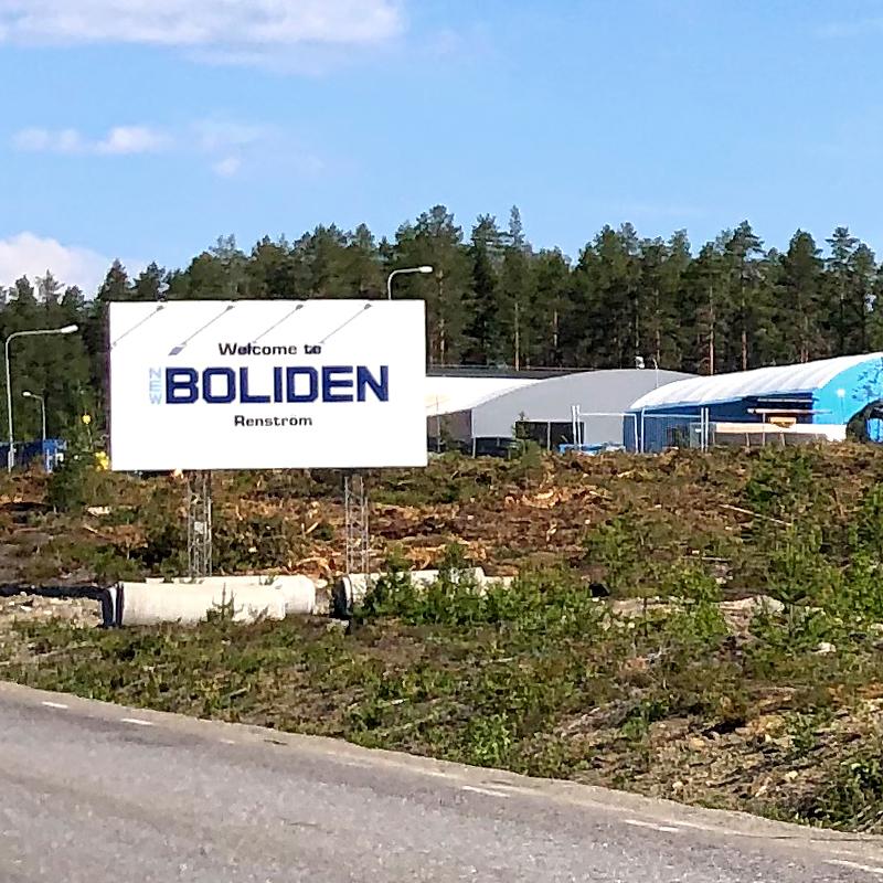 Ny betongfabrik i Renström