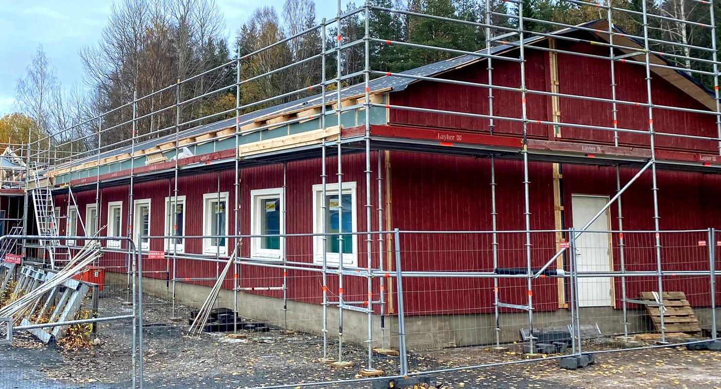 Snabbt och smidigt när Contractor kör med Jörnträhus PRO