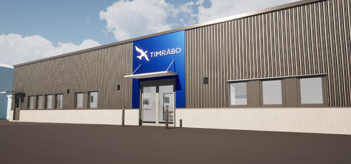 Stort ombyggnadsprojekt åt NP3 i Timrå