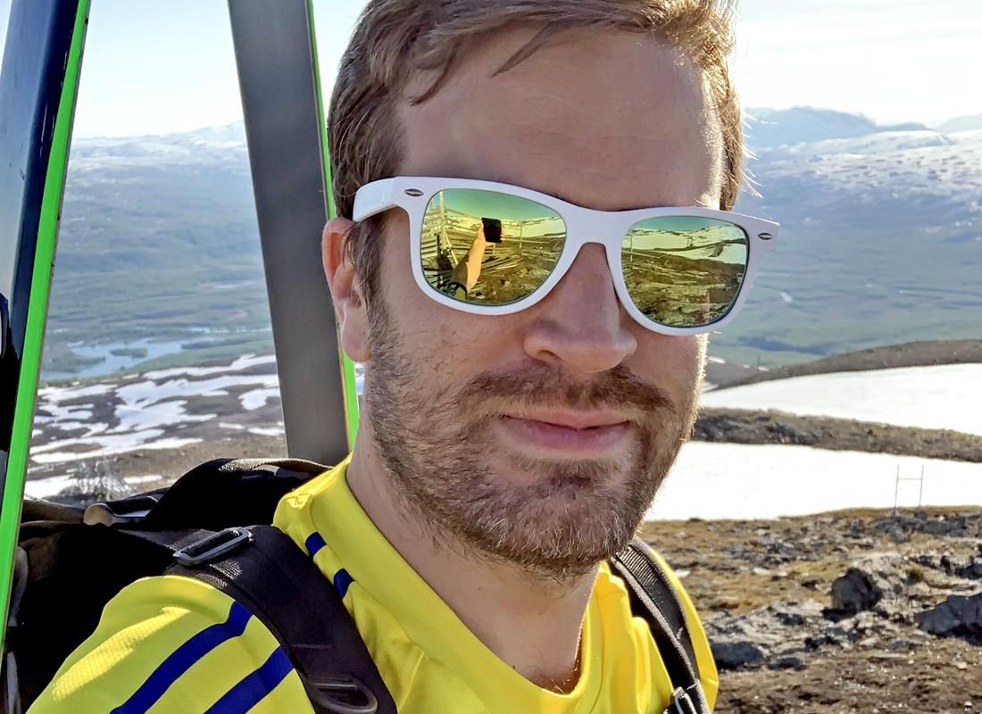 Rasmus Lindqvist hittade hem i Hemavan