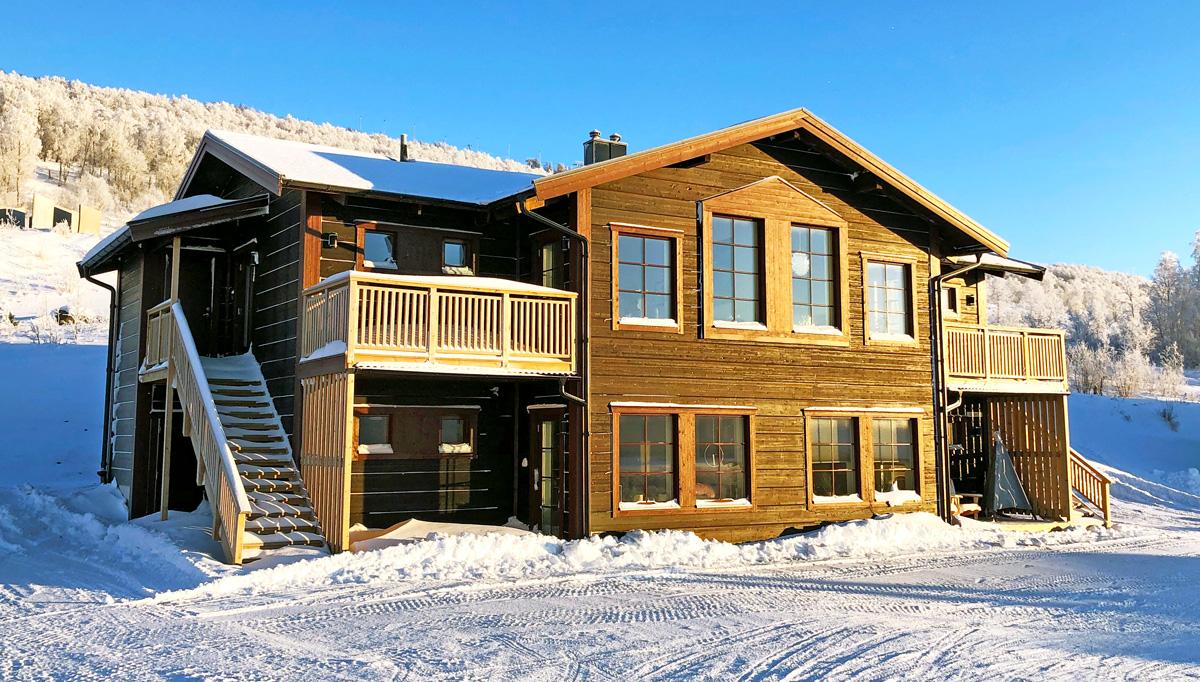 Ski Lodge rullar på med etapp 6 & 7