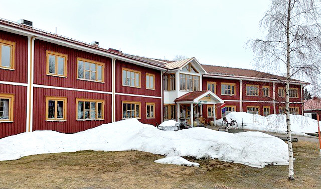 Lägenhetsprojekt i Saxnäs